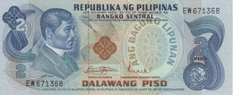 (B0188) PHILIPPINES, 1970's (ND Second Issue). 2 Piso. P-152a. UNC - Filippine