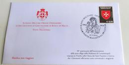 SMOM 2014 ANNULLO SPECIALE MADONNA DI COSTANTINOPOLI - Malte (Ordre De)
