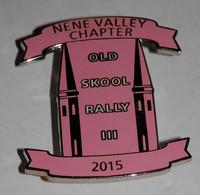 PIN OLD  SKOOL RALLY III 2015 - Motorbikes