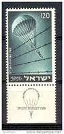 Israel - 1955, Michel/Philex No. : 106,  - MNH - *** - Full Tab - Israel