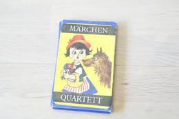 Speelkaarten - Kwartet, - Marchen Sprookjes , 1960's, Linde Austria , *** - Vintage - Cartes à Jouer Classiques
