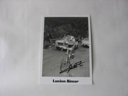 Autographe - Cyclisme - Lucien Aimar - Wielrennen