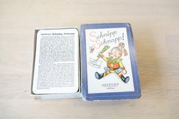 Speelkaarten - Kwartet, - Schnipp Schnapp  , 1960's, Ariston Katrin Köngesberg , *** - Vintage - Cartes à Jouer Classiques