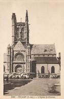 FECAMP - L'église St Etienne - 3068 (autobus) - Fécamp