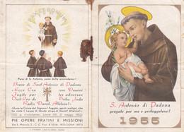 Calendarietto Tascabile S.antonio Di Padova - Anno 1955 - Petit Format : 1941-60