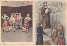 Calendarietto Tascabile Il Pane Degli Orfanelli - Anno 1957 - Petit Format : 1941-60
