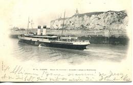 "N°4573 R -cpa Dieppe -sortie Du Steamer ""Arundel"" Allant à  Newhaven- - Ferries"