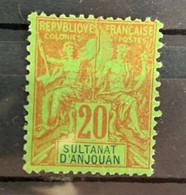 1892/9  Y Et T   7  Sans Gomme - Unused Stamps
