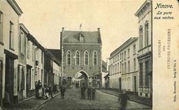 031 357 - CPA - Belgique - Ninove - La Porte Aux Vaches - Ninove
