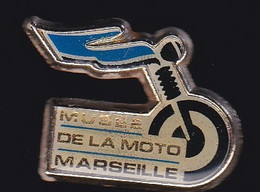 66933-Pin's .Musée De La Moto.Marseille. - Motorbikes