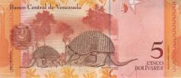 VENEZUELA P. 89a 5 B 2007 UNC - Venezuela