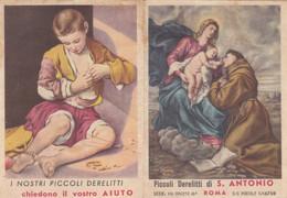 Calendarietto Tascabile Piccoli Derelitti Di S.antonio - Anno 1960 - Petit Format : 1941-60