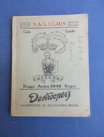 Gids Brugge Anno 1946 - Guide - Publiciteit - Geschiedenis