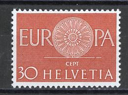 Europa CEPT 1960 Suisse - Switzerland - Schweiz Y&T N°666 - Michel N°720 *** - 30c EUROPA - Europa-CEPT