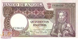 ANGOLA 500 ESCUDOS 1973 PICK 107 UNC - Angola