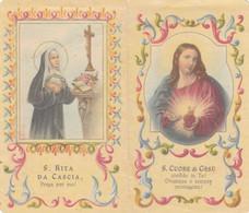 Calendarietto Tascabile Sacro Cuore Di Gesu' - Anno 1957 - Petit Format : 1941-60