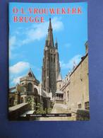 O.-L.-Vrouwekerk - Stadsgids In N F Spaans   -  Brugge - Geschiedenis