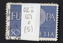Europa CEPT 1960 Suisse - Switzerland - Schweiz Y&T N°666 à 667 - Michel N°720 à 721 (o) - Lot De 5 Séries - Europa-CEPT