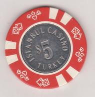 TURQUIE,TURKEI TURKEY ISTANBUL  CASINO TOKEN - Casino