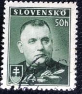 Slovensko - P3/8 - (°)used - 1939 - Michel Nr. 67Ya - President Jozef Tiso - Slovakia