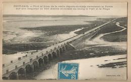 CPA [50] Manche > Port-Bail - Pont Et Levée De La Route - Sonstige Gemeinden