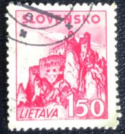 Slovensko - P3/8 - (°)used - 1941 - Michel Nr. 82 - Kastelen - Slovakia