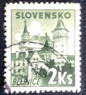 Slovensko - P3/8 - (°)used - 1941 - Michel Nr. 84 - Bojnice - Slovakia