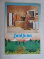 Publicité Sanijura Armoire De Toilette Champagnole Salle Bains Pin Up Pin Ups Nu Seins Nues - Advertising