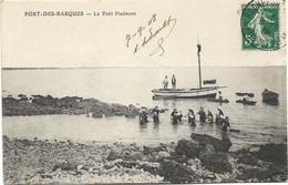 17 - PORT-DES-BARQUES - Le Petit Piedmont. Animée, 1908, BE. - France