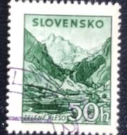 Slovensko - P3/8 - (°)used - 1943 - Michel Nr. 146 - Zelené Pleso - Slovakia