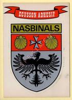 48. NASBINALS – Ecusson Adhésif (voir Scan Recto/verso) - France