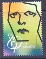 2018. Azerbaijan, Elza Ibragimova, Composer, 1v,  Mint/** - Azerbaïjan
