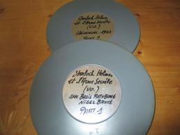 "2 Bobines Film Super8.:""SHERLOCK HOLMES ET L'ARME SECRETE.."" - Other Collections"