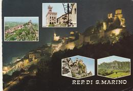 CARTOLINA VIAGGIATA REPUBBLICA SAN MARINO  (ZX897 - San Marino