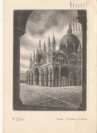 CARTOLINA VIAGGIATA VENEZIA BASILICA S.MARCO - BELLINI (ZX920 - Venezia (Venice)
