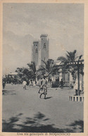 CARTOLINA VIAGGIATA MOGADISCIO SOMALIA (ZX1042 - Sierra Leona