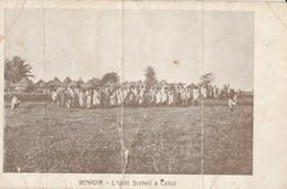 CARTOLINA VIAGGIATA MOLTE PIEGHE BENADIR SOMALIA (ZX1045 - Sierra Leona