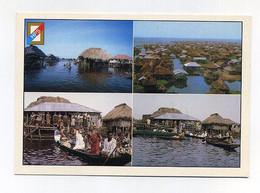 CP Béninoise Utilisée. Villages Lacustres Ganvié, Sotchanhoué... Lumière Et Couleurs Du Bénin, HPS éd. Photo Hazoumé - Benin
