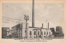 CARTOLINA NON VIAGGIATA SOCIETA' ELETTRICA DEL VALDARNO CENTRALE TERMOELETTRICA RIFREDI (FIRENZE) (ZX1082 - Firenze (Florence)