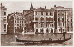 CARTOLINA VIAGGIATA VENEZIA GRAND HOTEL BAUER (ZX1164 - Venezia (Venice)