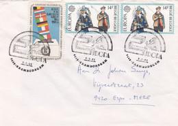 Enveloppe 2007 Cinderella Vignette Europa Erembodegem - België