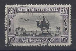 "SUDAN....KING GEORGE V....(1910-36.)......"" 1931..""....AIR.....3 & HALFp........SG55..........VFU.... - Sudan (...-1951)"
