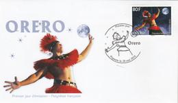 Polynésie FDC 2015 - Yvert 1089 Orero Art Oratoire - FDC