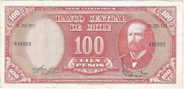 Chile 10 Centésimos De Escudo 1960 Pk 127.a.3 Ref 321-2 - Cile
