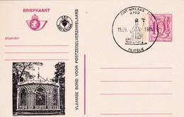 Carte Entier Postal Vlaamse Bond Voor Postzegelverzamelaars Sint-Niklaas Filatelie - Postwaardestukken