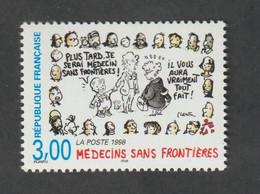 Timbre  -  1998  -   N°3205  - Médecin Sans Frontières   -    Neuf Sans Charnière - Frankreich