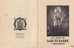 Seconde Guerre Mondiale  1941- OFLAG XVII - Artilleurs - Sapeurs - Aérostiers - Poudriers - Saint-Barbe  AUTRICHE - Programmes