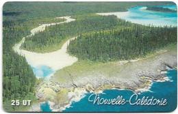 New Caledonia - OPT - Ile Des Pins, La Presqu'île D'Oro - SC7, 05.2001, 25Units, 40.000ex, Used - Nouvelle-Calédonie