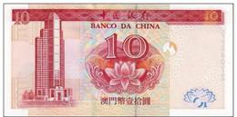 MACAU P. 102 10 P 2003 UNC - Macau