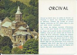CPM France 63 Puy De Dôme Souvenir Orcival - Saluti Da.../ Gruss Aus...
